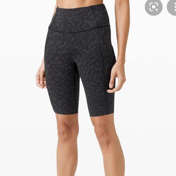 Lululemon fast & free shorts.